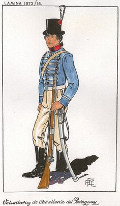 Voluntarios de Caballería del Paraguay 1806
