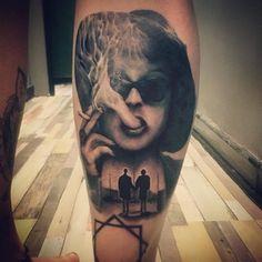 Marla Singer (Fight Club) by Michael Rigg at M.R. Tattoo Ltd, Birmingham Uk : tattoos