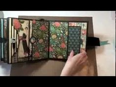 8x8 Graphic45 Couture Mini Album - YouTube has link to tutorial to purchase.