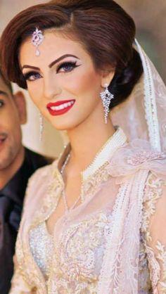 Faryal makhdoom. Walima make up look. Soooo pretty