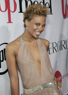Eva Pigford, winner 'Americas Next Top Model' season 3 at the America's Next Top Model Season Three Finale - Red Carpet and Party at Club Ivar in Hollywood, California. #ANTM #model #winner #girls