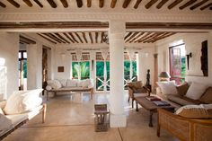 Here is your version of paradise found on a little island off the coast of Kenya, the Bembea House Lamu