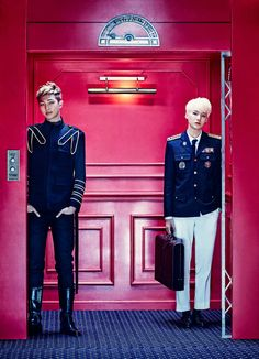 BTS Rap Monster and Suga