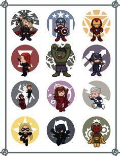 Avengers Mini by Hiroki8 on DeviantArt