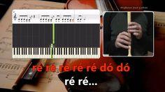 Love me like you do - Ellie Goulding Karaoke das notas para flauta e piano Educação Musical