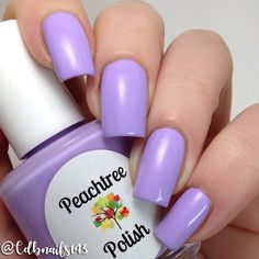 """Peachtree Polish """"Lilac Bliss"""" - lilac creme #nail polish / lacquer / vernis, swatch / manicure"""