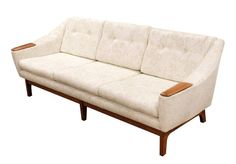 Mid Century Modern Danish Teak Sofa on Chairish.com