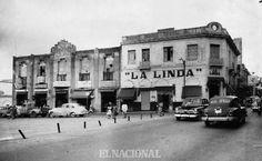 Alrededores de la Plaza el Venezolano. (ARCHIVO EL NACIONAL) ahí estaba la primera tienda de piñatas de venezuela....