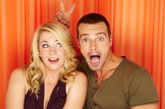 Mel and Joe always have a way of making us smile! Can't wait for the winter premiere of #MelissaandJoey next week!