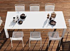 Varaschin - Dolmen Extending Dining Table #Outdoor #Luxury #Homeware