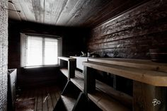 Sauna Design, Home And Living, Dining Bench, Entryway Tables, Interior Design, Furniture, Saunas, Home Decor, Finland