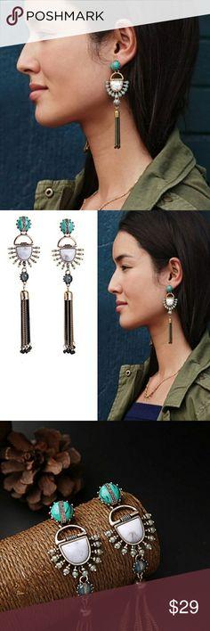 Fringe Statement Earrings High quality fringe statement earnings Jewelry Earrings