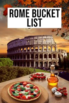 Make sure to visit all these bucket list destinations in Rome, Italy!