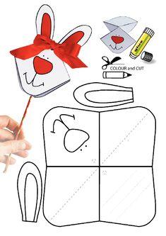 easy pop up frog art for kids hub - PIPicStats Bunny Crafts, Easter Crafts For Kids, Diy For Kids, Easy Crafts, Diy And Crafts, Arts And Crafts, Paper Crafts, Easy Diy, Easter Printables