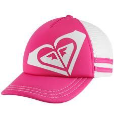Click Image Above To Buy  Roxy Dig This Juniors Adjustable Trucker Hat -  Neon Berry 23b7aff97b79