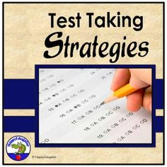 Test Taking Strategies PowerPoint - TEST PREP by HappyEdugator | TpT Teaching Activities, Teaching Resources, Teaching Ideas, Classroom Resources, Test Taking Strategies, Cooperative Learning, School Subjects, Test Prep, Word Work