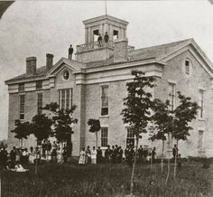 On January 31, 1846, Carroll College, in Waukesha, was chartered by the territorial legislature. It is the oldest college in Wisconsin. The college was named for Charles Carroll, who signed the Declaration of Independence.   WHI Image ID: 37214 - Carroll College in the 1890's