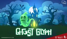Ghost Glyph Slot by Quickspin Game Info, Halloween Horror, Glyphs, Halloween Themes, Paranormal, Slot, Creatures, Symbols, Group