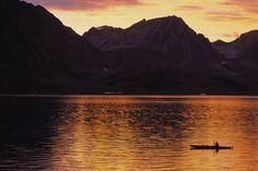 kayaking fjords.