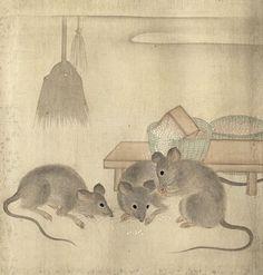 Mori Sosen (1747-1821), Edo Period