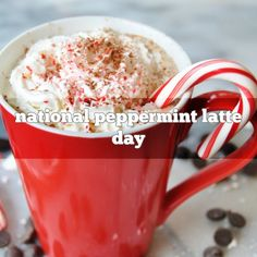 December 3rd is National Peppermint Latte Day | Foodimentary - National Food Holidays