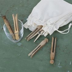 Picture of Vintage Lavender Clothespegs