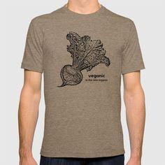 Vegan Organic T-shirt   The Ahimsa Project   www.society6.com/theahimsaproject