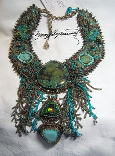 Tortugas Necklace created by Lynn Parpard by LynnParpard on Etsy, $1025.00
