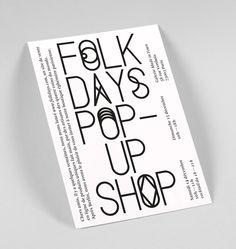 Folkdays — Corporate Design - Stahl R