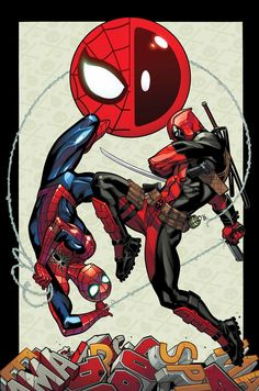 Ed McGuiness - Spider-Man and Deadpool