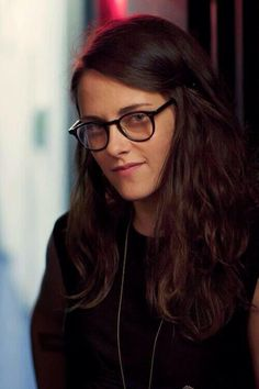 "As Valentine in ""Clouds of Sils Maria"" :)"