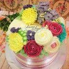 Floral Buttercream Cake