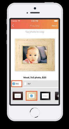 Pictli photo framing app automatically sends giftwrapped, framed photos starting at just $20. Perfect for Father's Day!