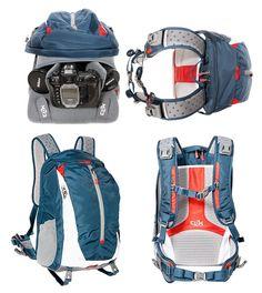 Camera bag and backpack