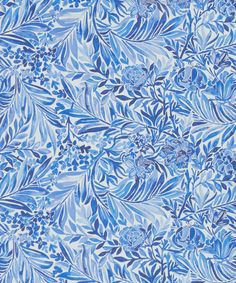 Liberty Art Fabrics Lake Wallace Secret Garden Wallpaper | Home | Liberty.co.uk