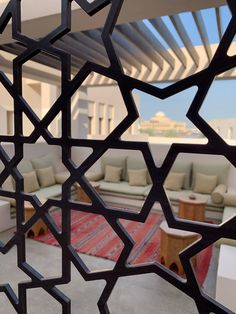 Discover a beautiful and unique perspective at Al Bait Sharjah, a GHM Hotel. Sharjah, Pallet Furniture, Furniture Design, Bait, Old Houses, Design Elements, Islamic, Perspective, Oriental
