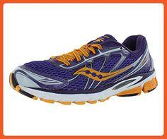 Saucony Women's Ride 5 Running Shoe,Purple/Orange,7.5 M US - Athletic shoes for women (*Amazon Partner-Link)