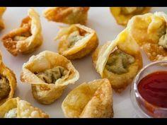 Chinese Fried Wontons Recipe Video
