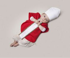 Aspiring Tot Captures - Photographer Malo Dresses Little Ones for Future Careers (GALLERY)
