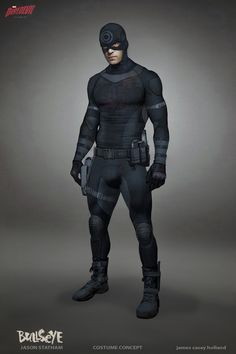 Fan Art for Daredevil season Bullseye (Jason Statham) Costume Concept Hq Marvel, Marvel Fan Art, Marvel Comics Art, Marvel Films, Marvel Heroes, Marvel Comic Character, Comic Book Characters, Marvel Characters, 3d Character