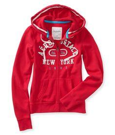 Aero New York Athletic Full-Zip Hoodie - Aeropostale