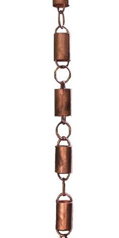 All Copper Channel Link Rain Chain by Rain Chains Direct 85 Feet >>> To view further for this item, visit the image link. (This is an affiliate link and I receive a commission for the sales)