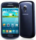 Samsung Galaxy S3 Mini  SM-G730V 8GB Blue (Verizon) Smartphone - Grade C