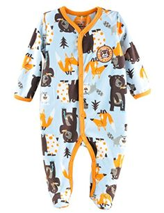 7f547d235d Comhoney Baby Boys 1Piece Footed Blanket Sleeper Pajamas Bear    Visit the  image link more