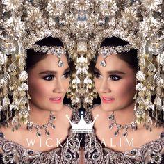 My make up wedding #natural #makeup #wedding #pengantin #eyeshadow #flawless #traditional #wickkyhalim #sunting #padang