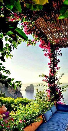 Capri, Italy. Breathtaking.
