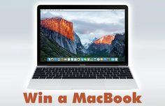Win A 12 inch Silver Macbook