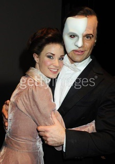 Christine and the Phantom in Love Never Dies