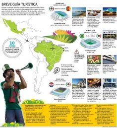 Breve guía turística | El Economista http://eleconomista.com.mx/infografias/2014/06/06/breve-guia-turistica