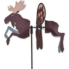 """Moose Petite Spinner, size: Spinner body: 12.75""""W x 12.25""""H, Spinner diameter: 12.5"""".  Free Shipping in the USA."""